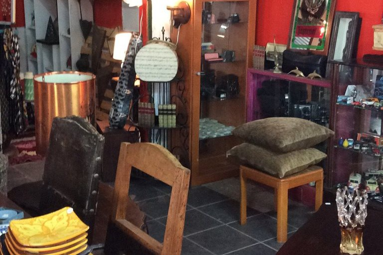 Secondhand furniture at The Stables