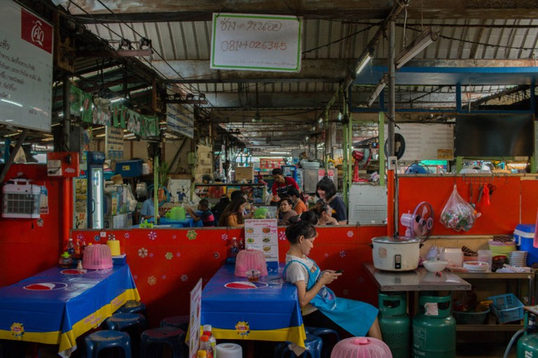 Khlongsan - a local's market with a local feel