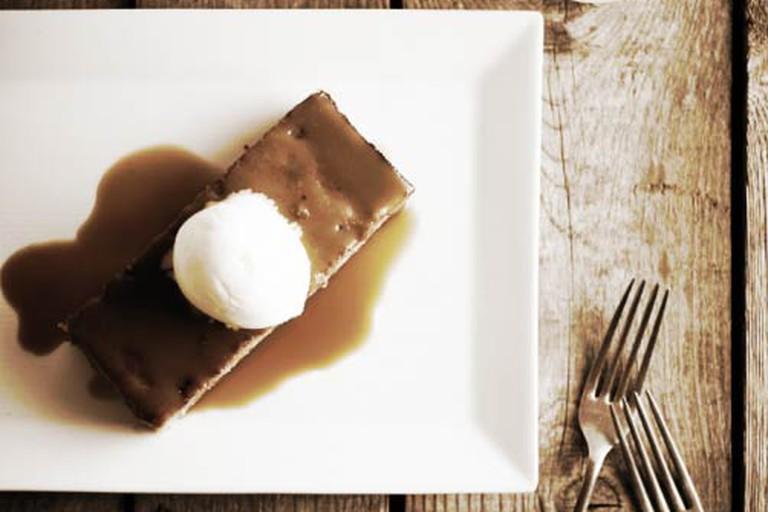 Sorghum Toffee Pudding at Table and Main