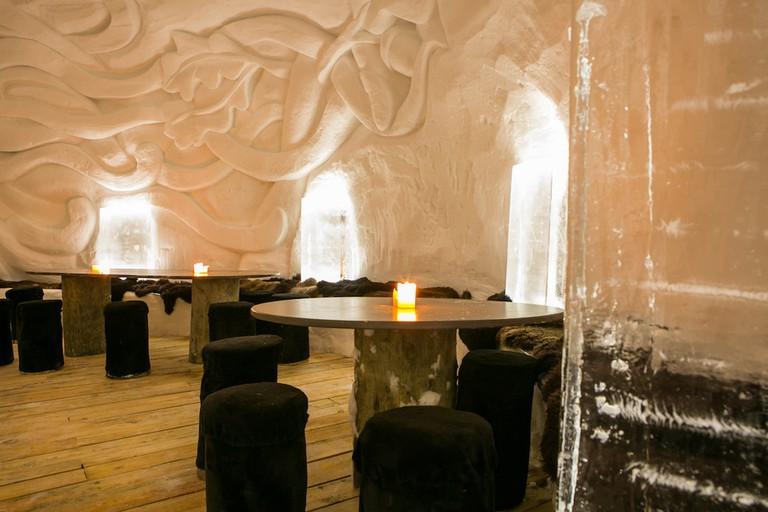 Iglú Hotel bar, Grau Roig, Andorra