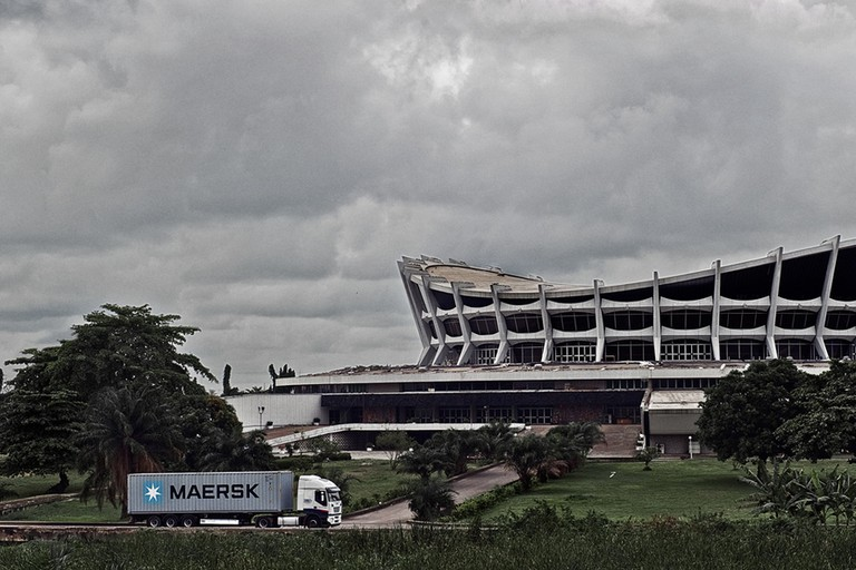 The National Arts Theatre, located in Iganmu, Lagos