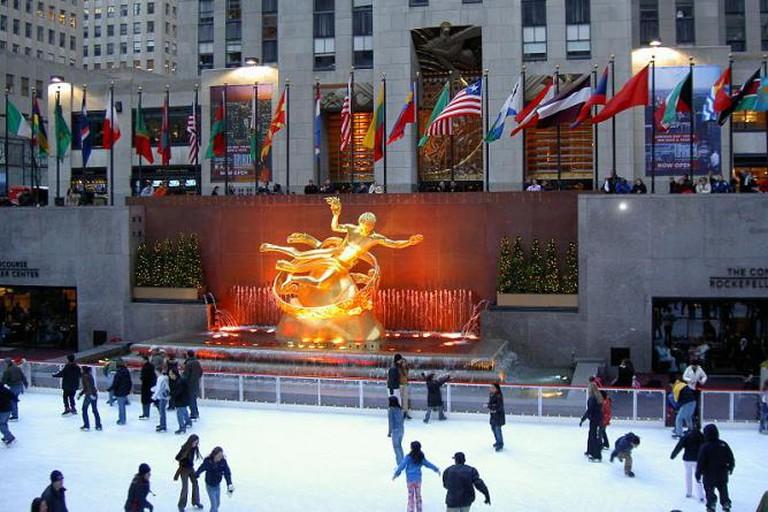 Rockefeller Center, in New York City
