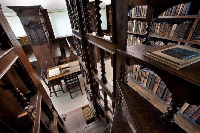 Jesus College Library, Oxford