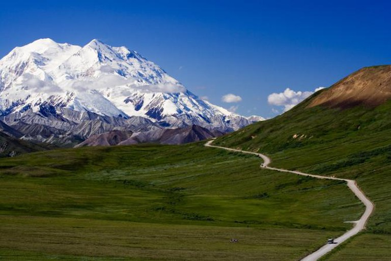 The majestic Mt. McKinley in Denali National Park