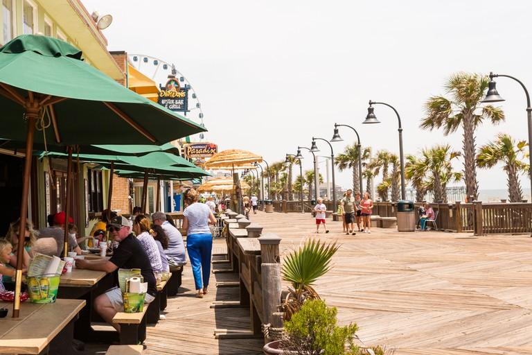 Boardwalk in Myrtle Beach, South Carolina