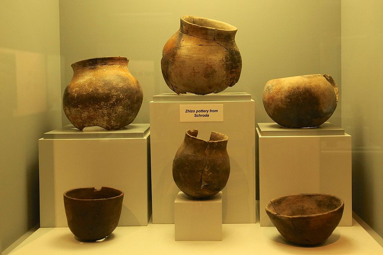 Artifacts at the National-Cultural History Museum