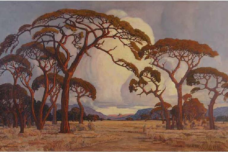 Pierneef: A summer afternoon, Bushveld (1928)