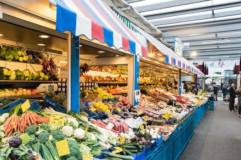Carslplatz Market, Dusseldorf, Germany