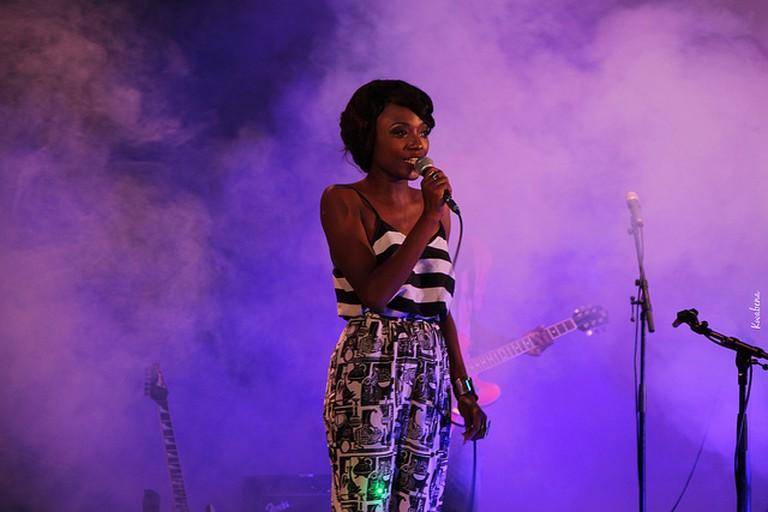 Efya, one of Ghana's most popular music artists