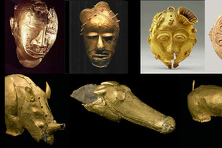 Ashanti gold and brass
