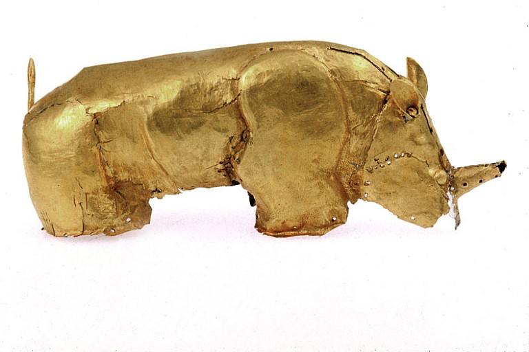 Gold rhino