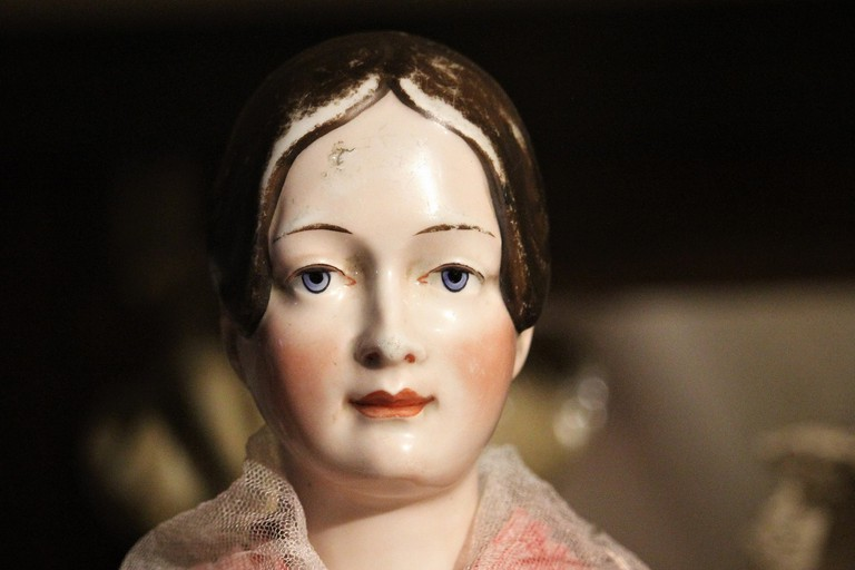 China Doll in Suomenlinna Toy Museum