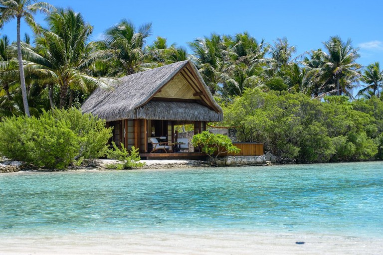 Fare Spa on Vahine Private Island