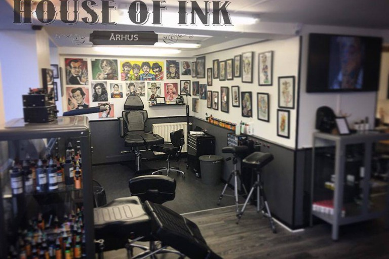 House of Ink Aarhus - Prisvindende tatovør, Tattoo, Piercing