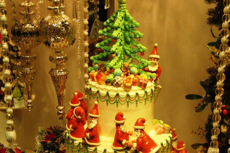 Christmas Cake at market