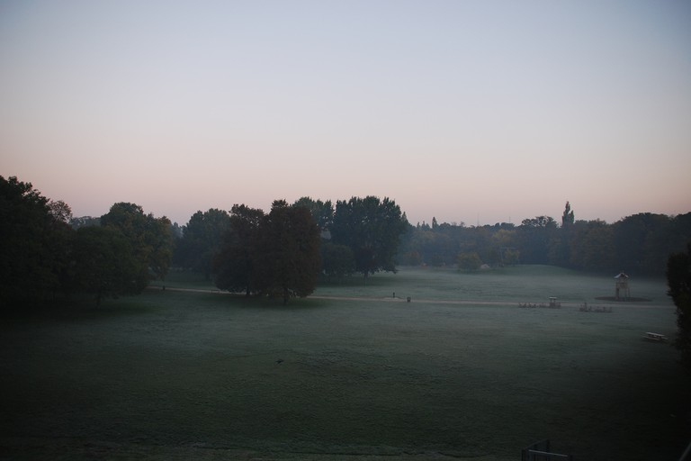 Prater, early in the morning