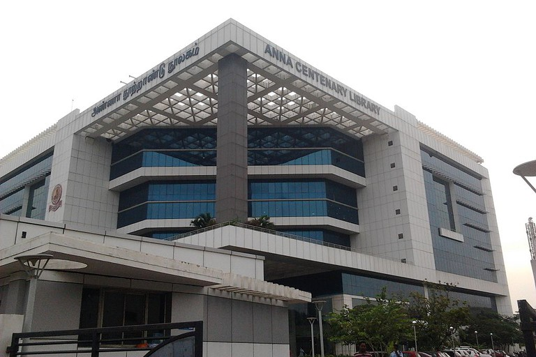 Anna Centenary Library (ACL) at Kotturpuram, Chennai