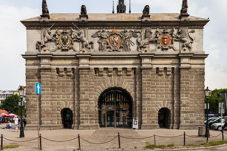 Brama Wyzynna, Gdańsk