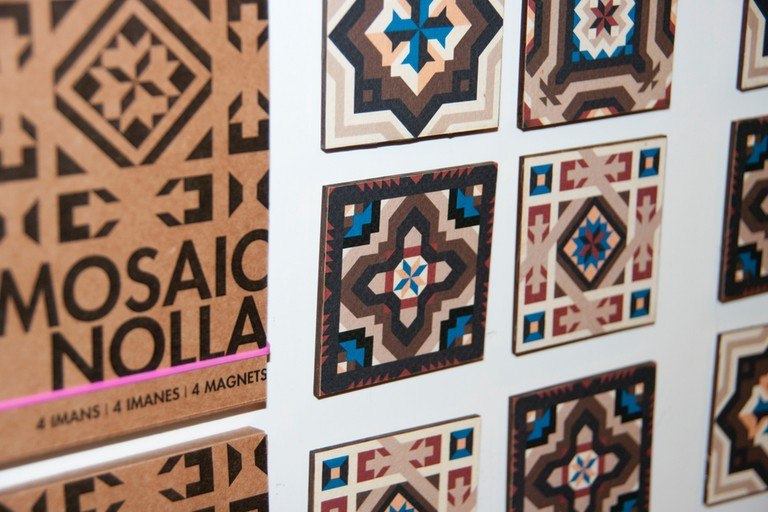 Mosaic prints at Atypical Valencia