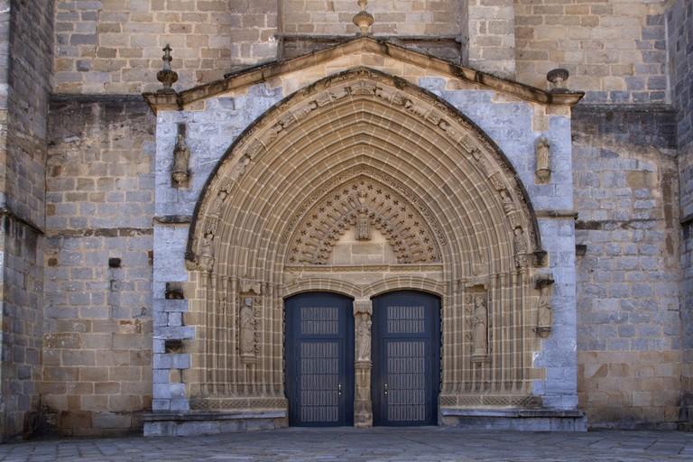 Santa Maria church, Guernica, Spain