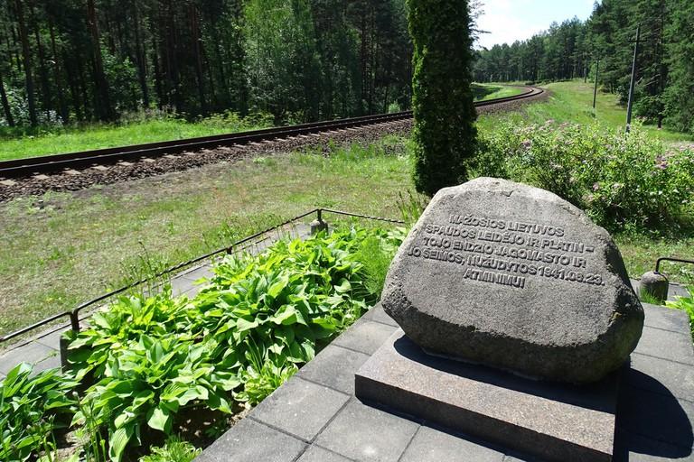 Memorial to Jewish Holocaust - Paneriai