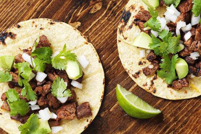 Steak Cilantro Tacos