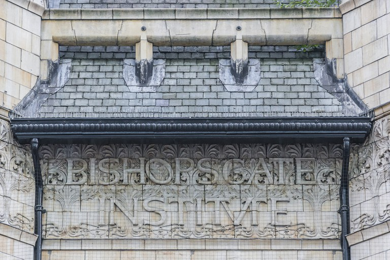 Bishopsgate Institute, Tottenham, London