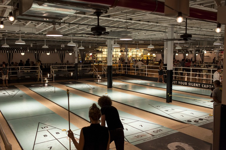 The Royal Palms Shuffleboard Club, New York