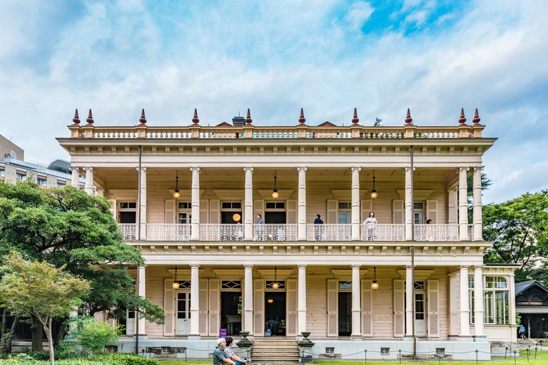 The Iwasaki Mansion was inspired by the old plantation houses of America