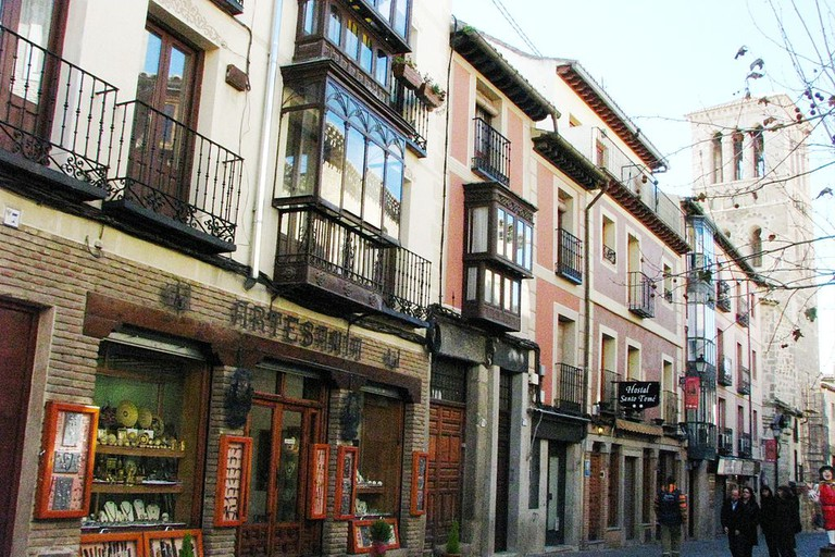A street in Toledo's Old Town