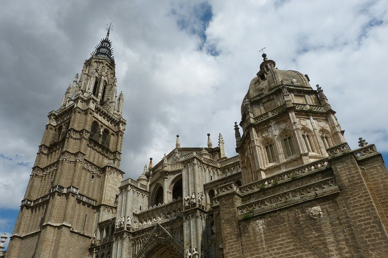 The cathedral of Toledo.