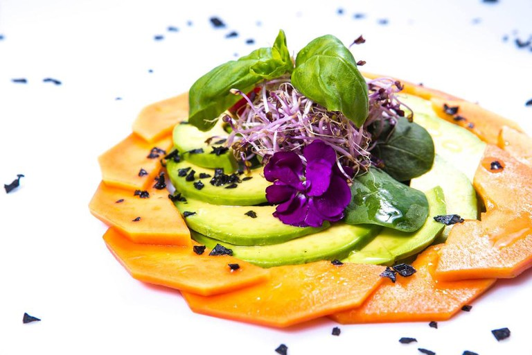 Dishes are served with an artistic flair at Il Margutta