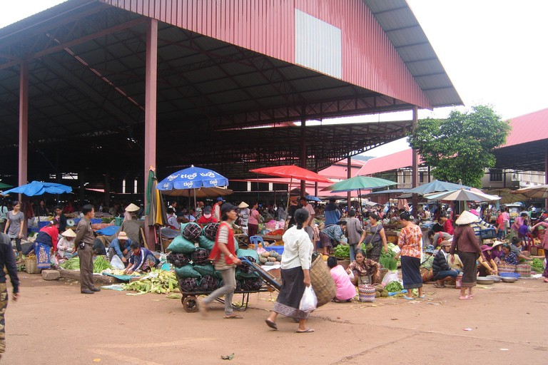 Market, Pakse
