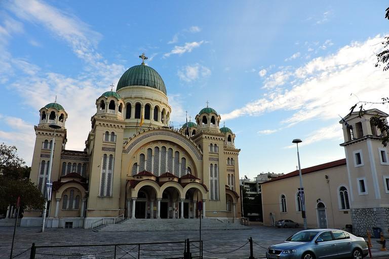 Agios Andreas (St. Andrew) church, Patras