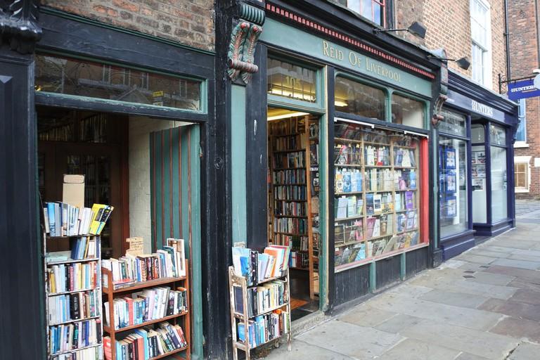 Reid of Liverpool book store