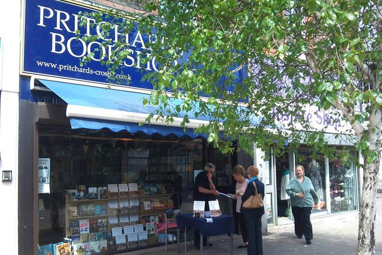 Pritchards bookshop in Liverpool