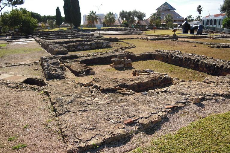 Visit the Roman ruins of Cerro da Vila