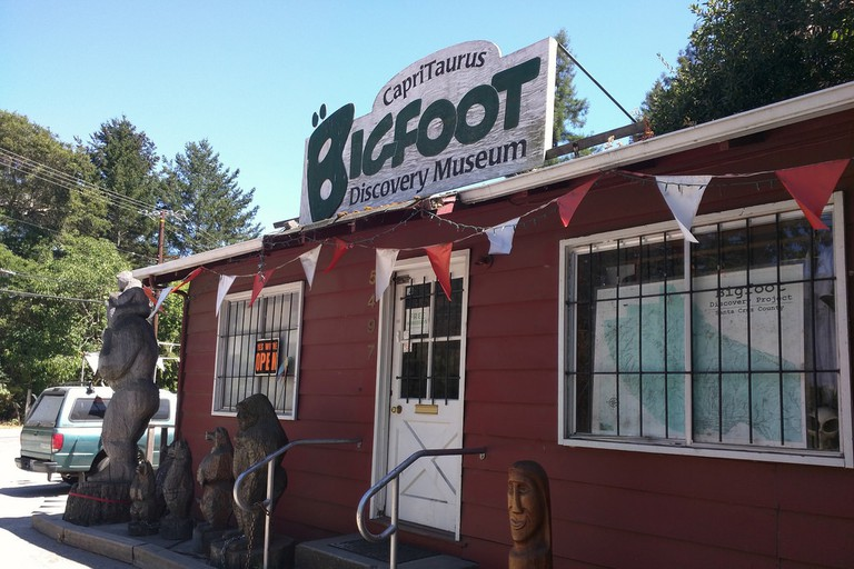 Bigfoot discovery museum in Felton! :D