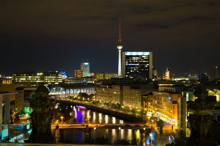 Berlin Skyline by night