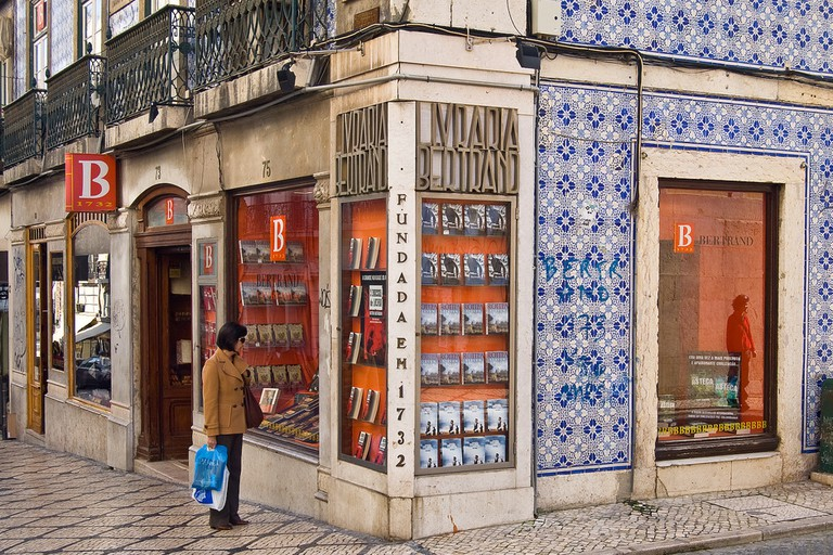 The Bertrand Bookstore in Lisbon