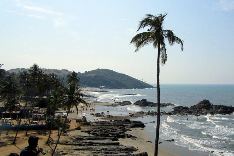 Vagator Beach, Goa, India