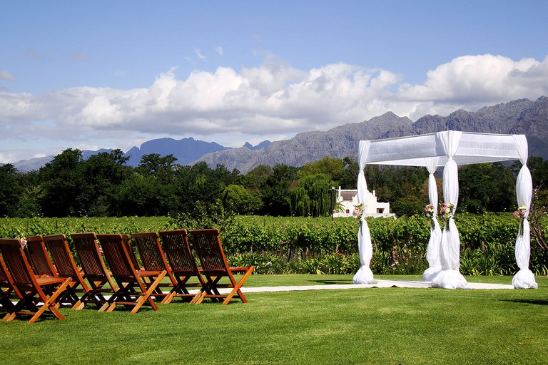 Vrede en Lust wine estate offers tranquil farms stays and event facilities