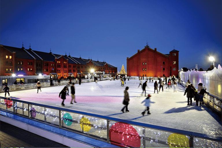 Yokohama Red Brick Warehouse annual skating rink