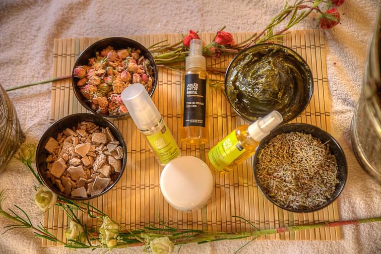 Natural products at Argan Phyto House