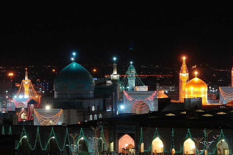 Goharshad Mosque in the Imam Reza Shrine Complex