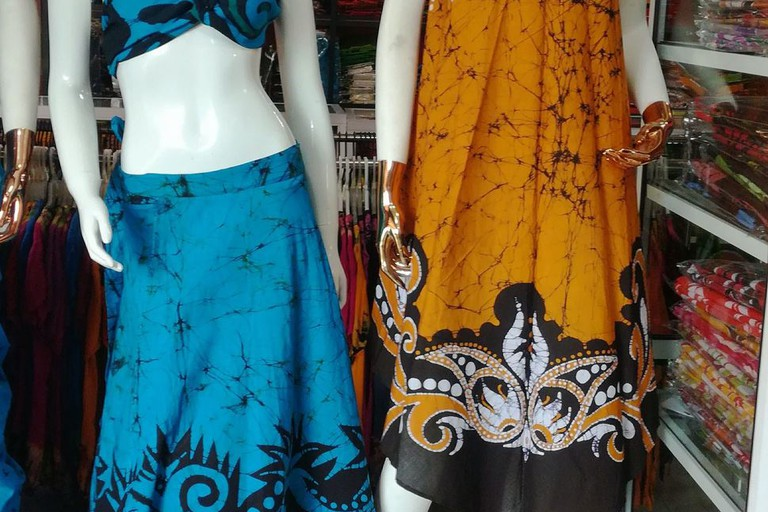 All sorts of designs at The Roma Batik