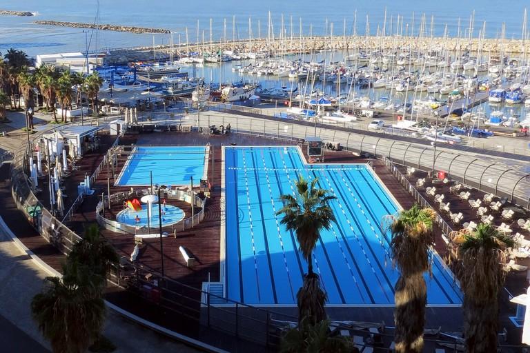 Gordon Pool, Israel