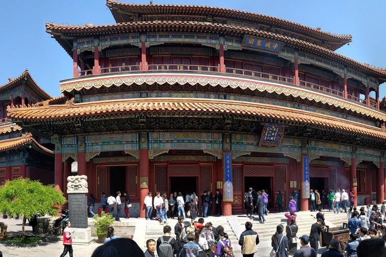 Yōnghégōng (雍和宮, Lama Temple), Běijīng (北京)