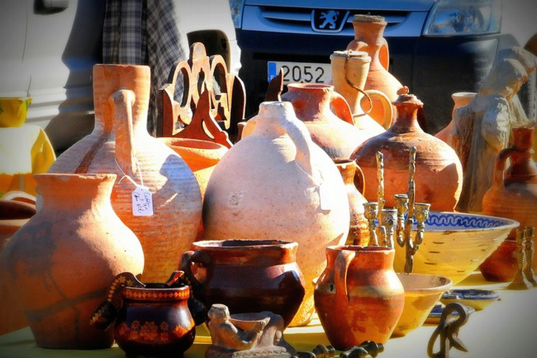 You never know what you might find at Marbella's flea markets; ddouk