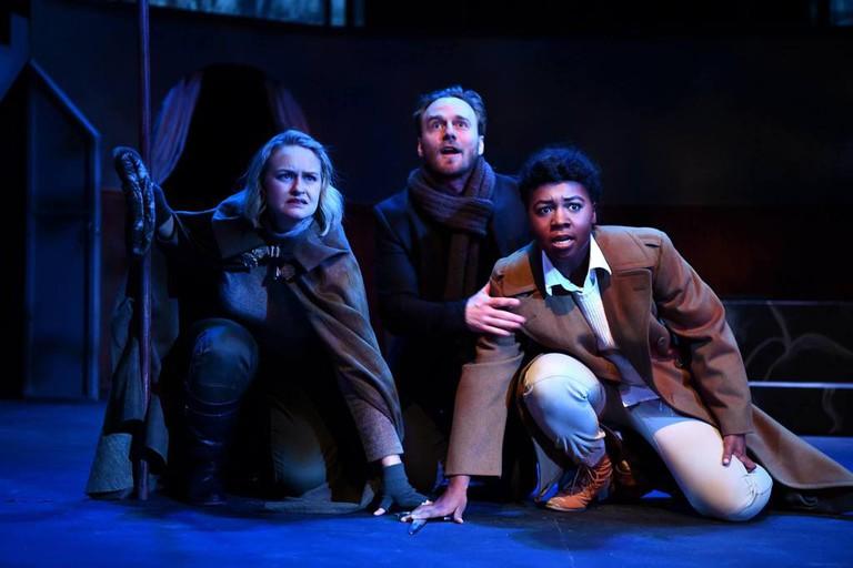 Actors Perform Shakespeare's Hamlet